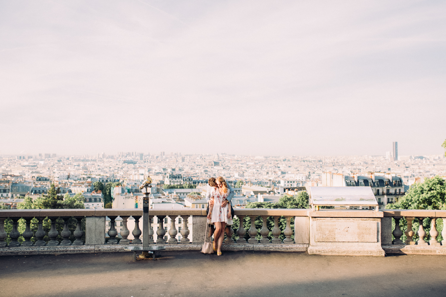 Engagement Photographer Paris Montmartre