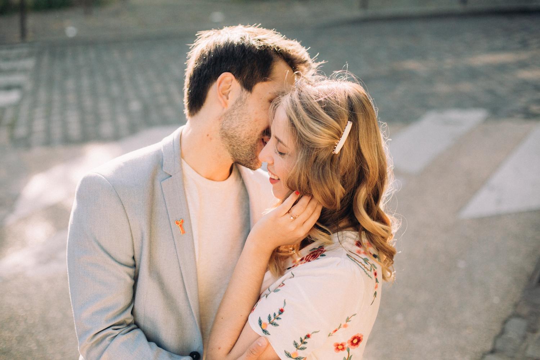 Photographe mariage Montmartre Engagement Fiançailles