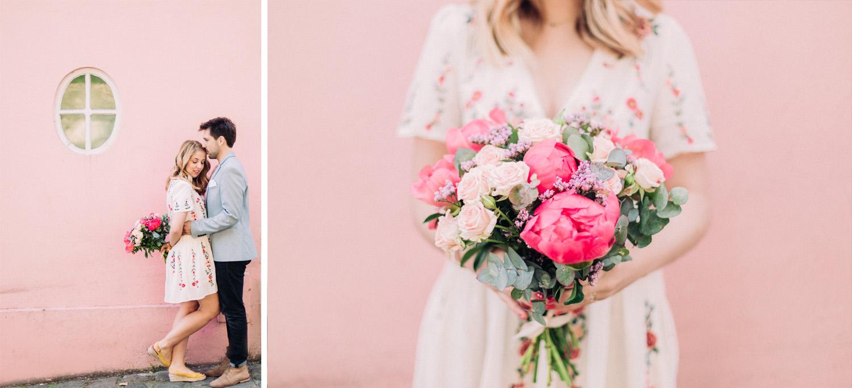 Photographe mariage Montmartre Engagement Fiançaille