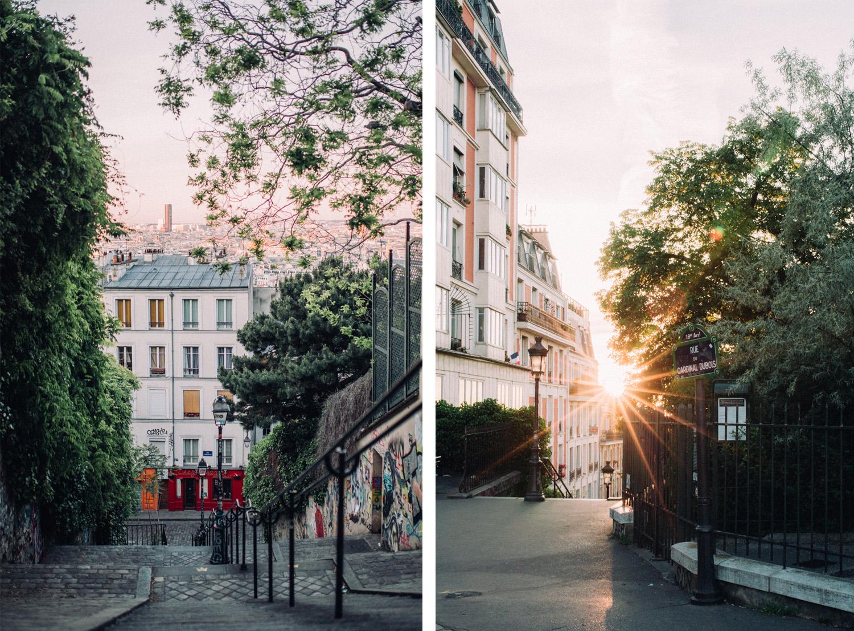 Engagement wedding Photographer Paris Montmartre