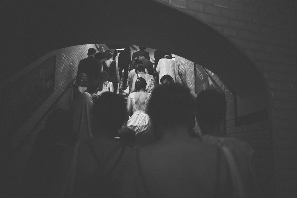 Mariage métro paris