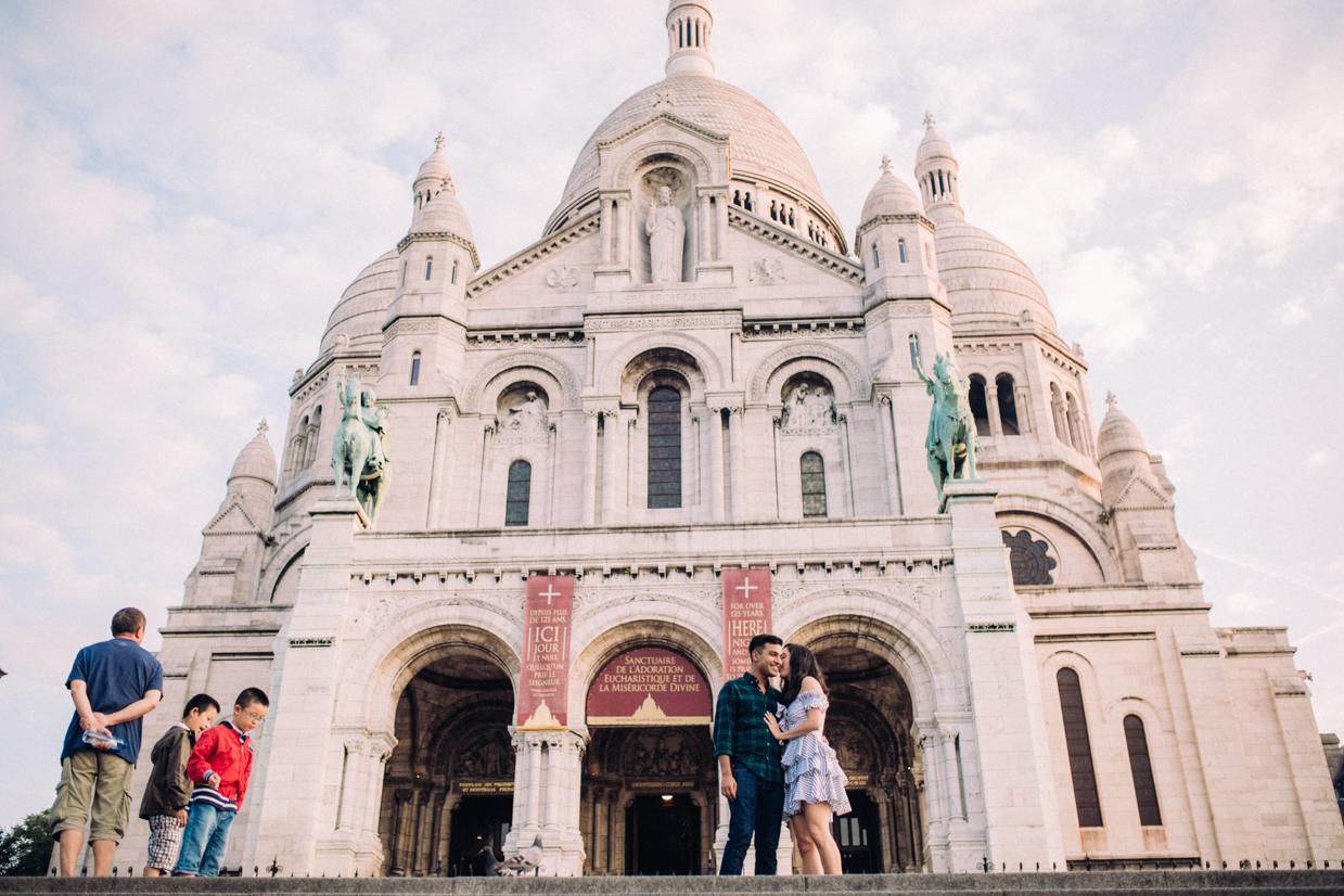 Wedding photographer Montmartre