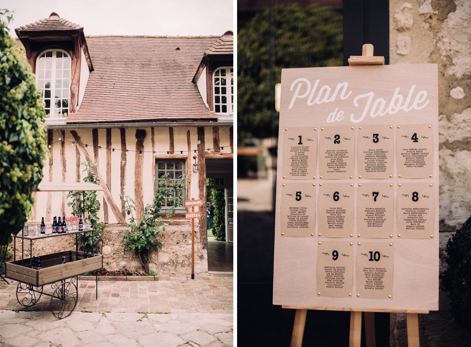 Wedding Dime de Giverny