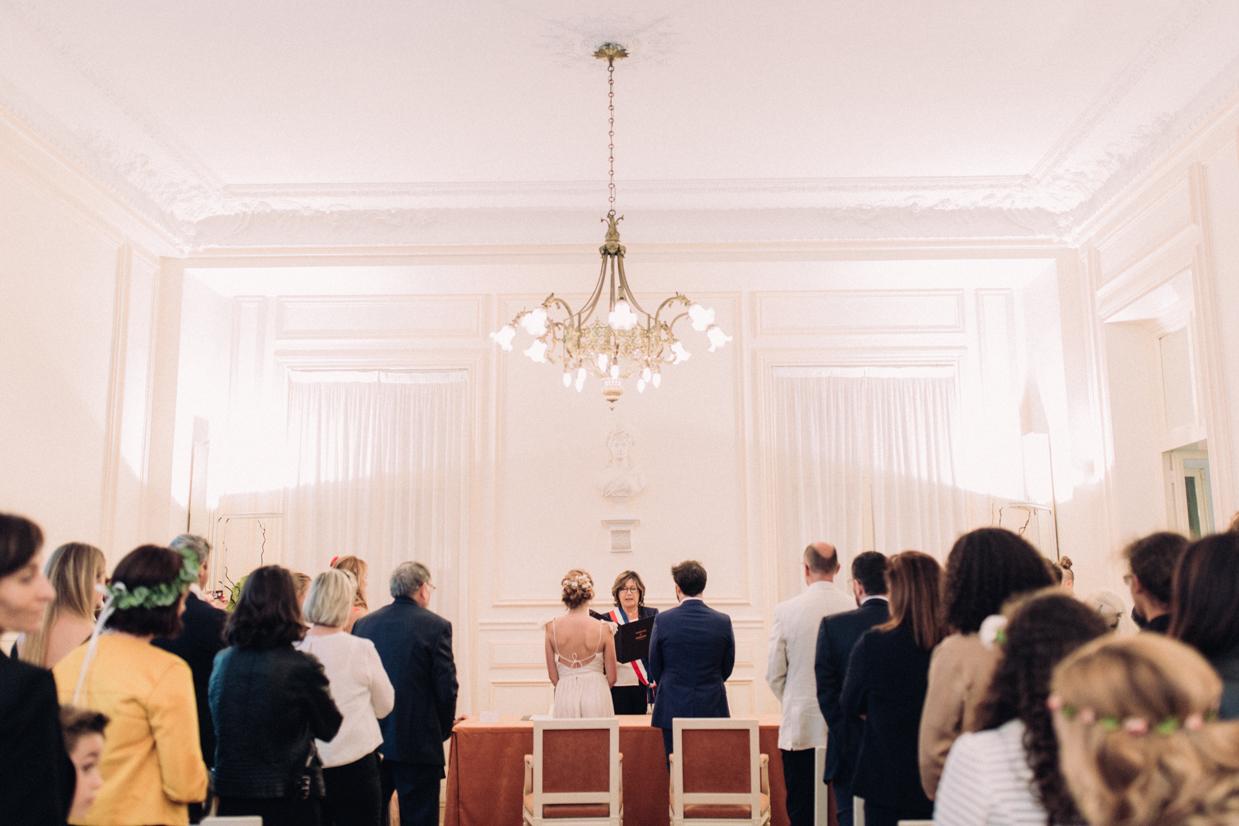 Mariage à la mairie de Garches