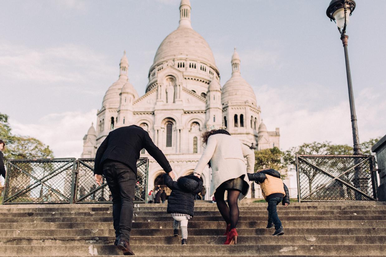 Seance Famille Paris Montmartre