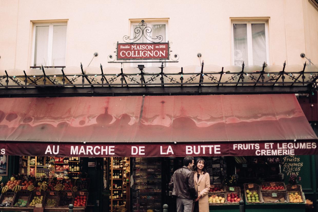 Engagement Montmartre Paris Photographe