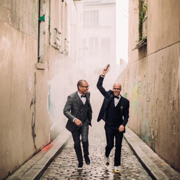 G + G - UN MARIAGE FUNKY EN HIVER À PARIS