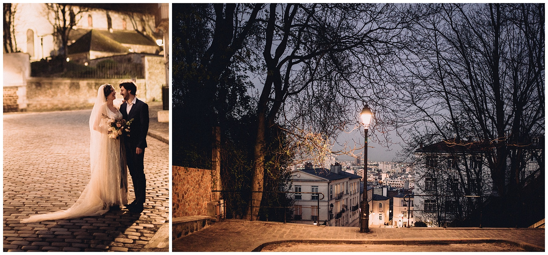 Montmartre mariage photographe - Elopement in Paris - Wedding Paris