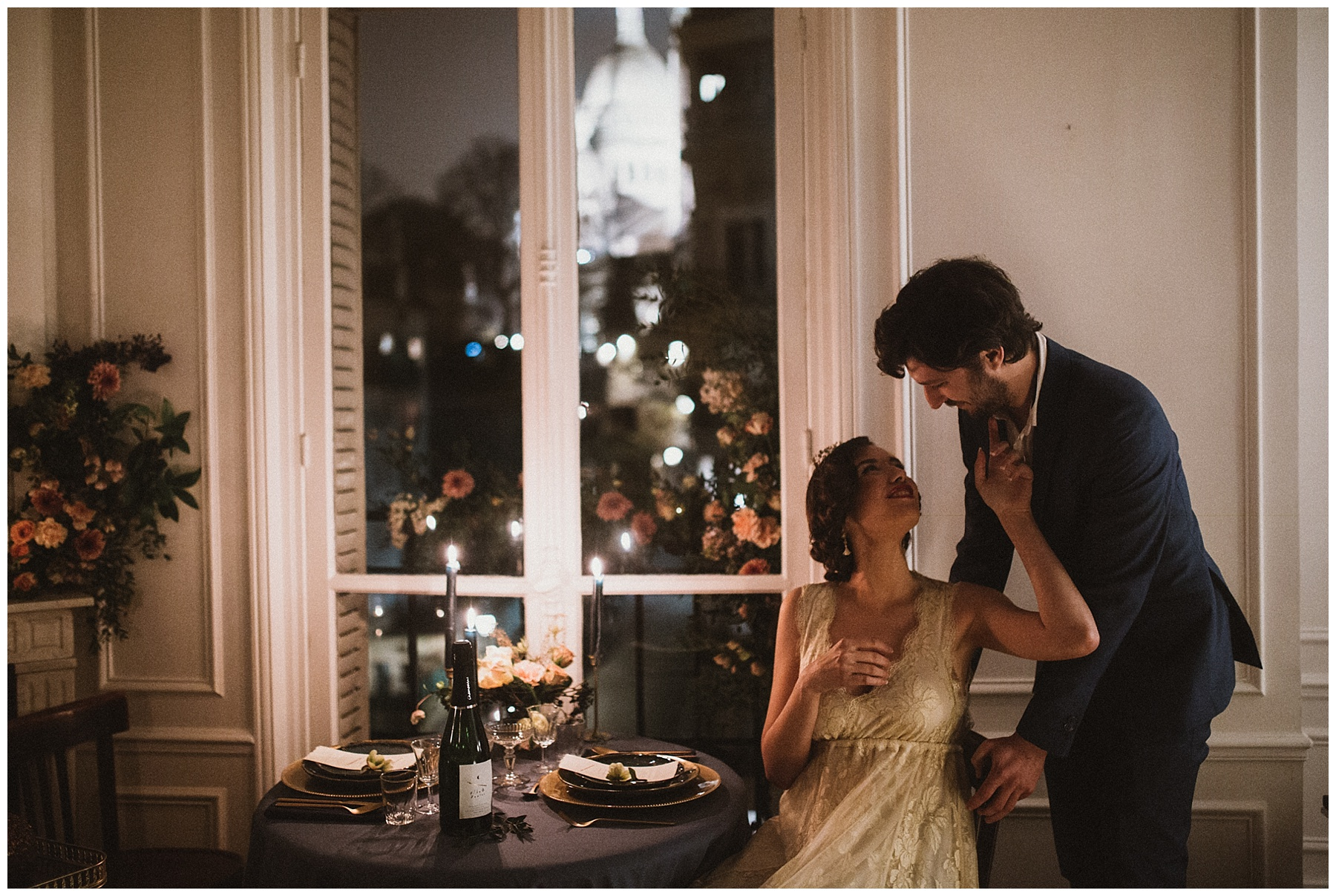 Wedding in Montrmartre - Elopement in Montmartre