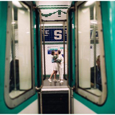 Laura + Céline /// Un mariage Girl Power à Paris