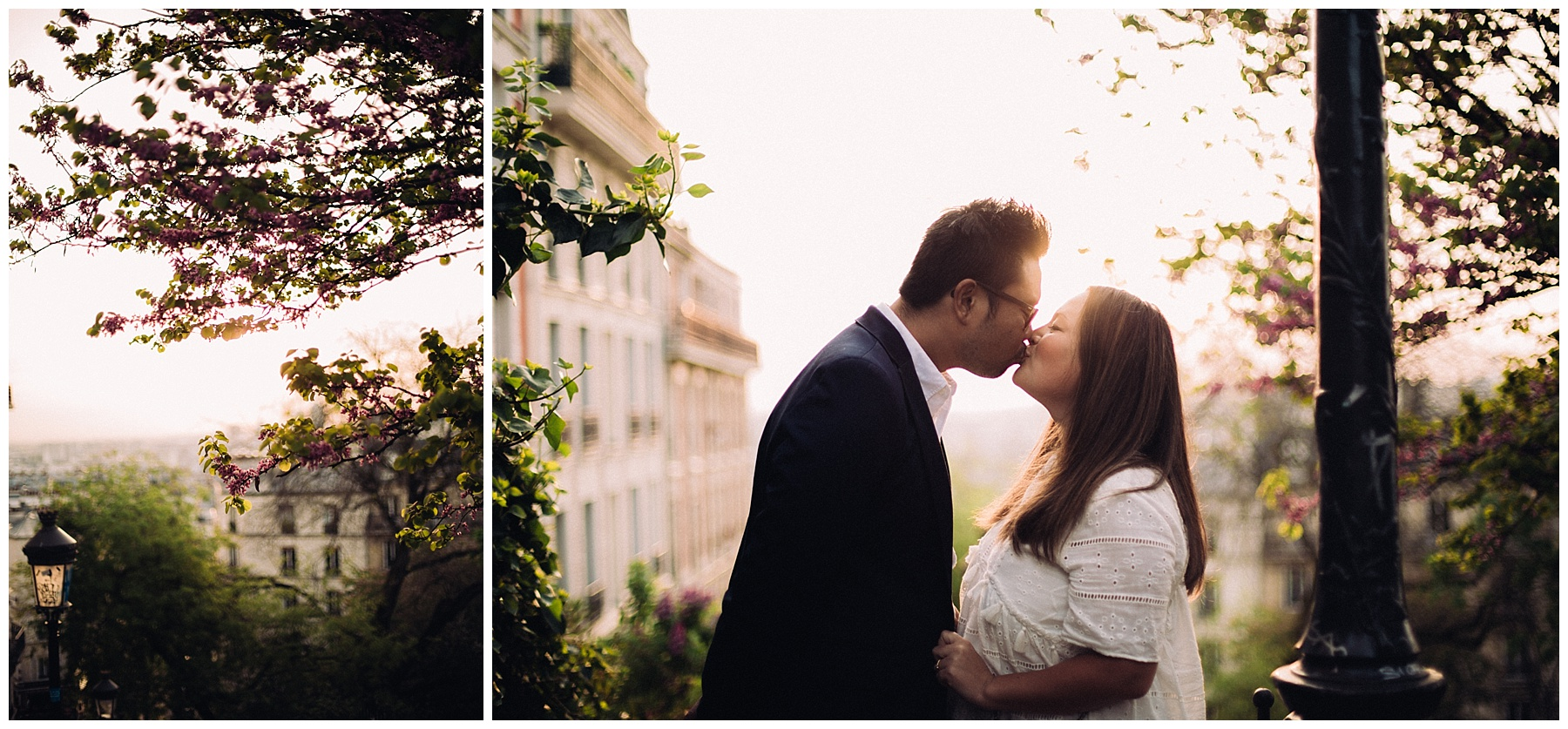 photo de couple montmartre