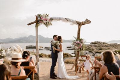 Mariage le Rocher Lumio