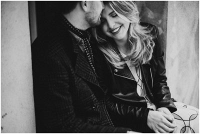 T + C - BLACK AND WHITE LOVE SESSION IN MONTMARTRE
