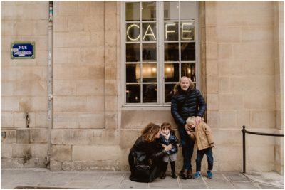 UNE SÉANCE FAMILLE À PALAIS ROYAL - PARIS