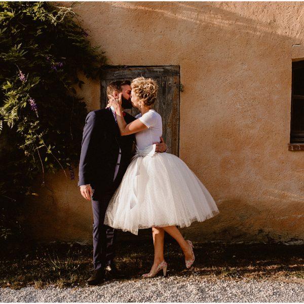 K + E /// UN MARIAGE ROCK ET ENSOLEILLÉ PRÈS DE PARIS