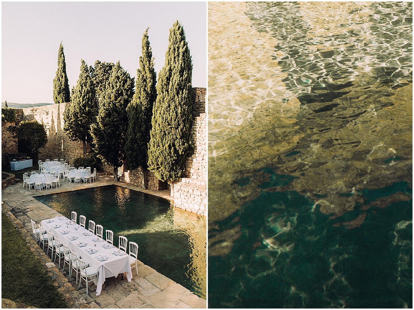 Chateau de cassis Mariage