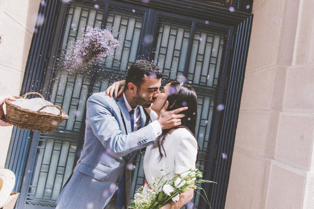 Mariage à la mairie de Nice
