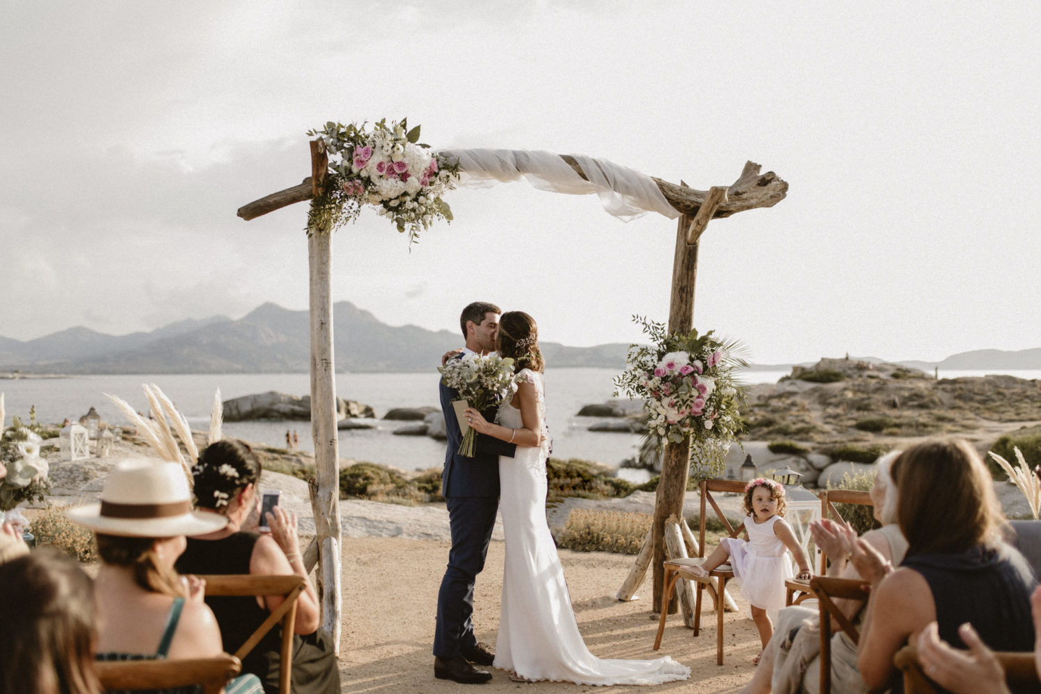 wedding in calvi Corse France