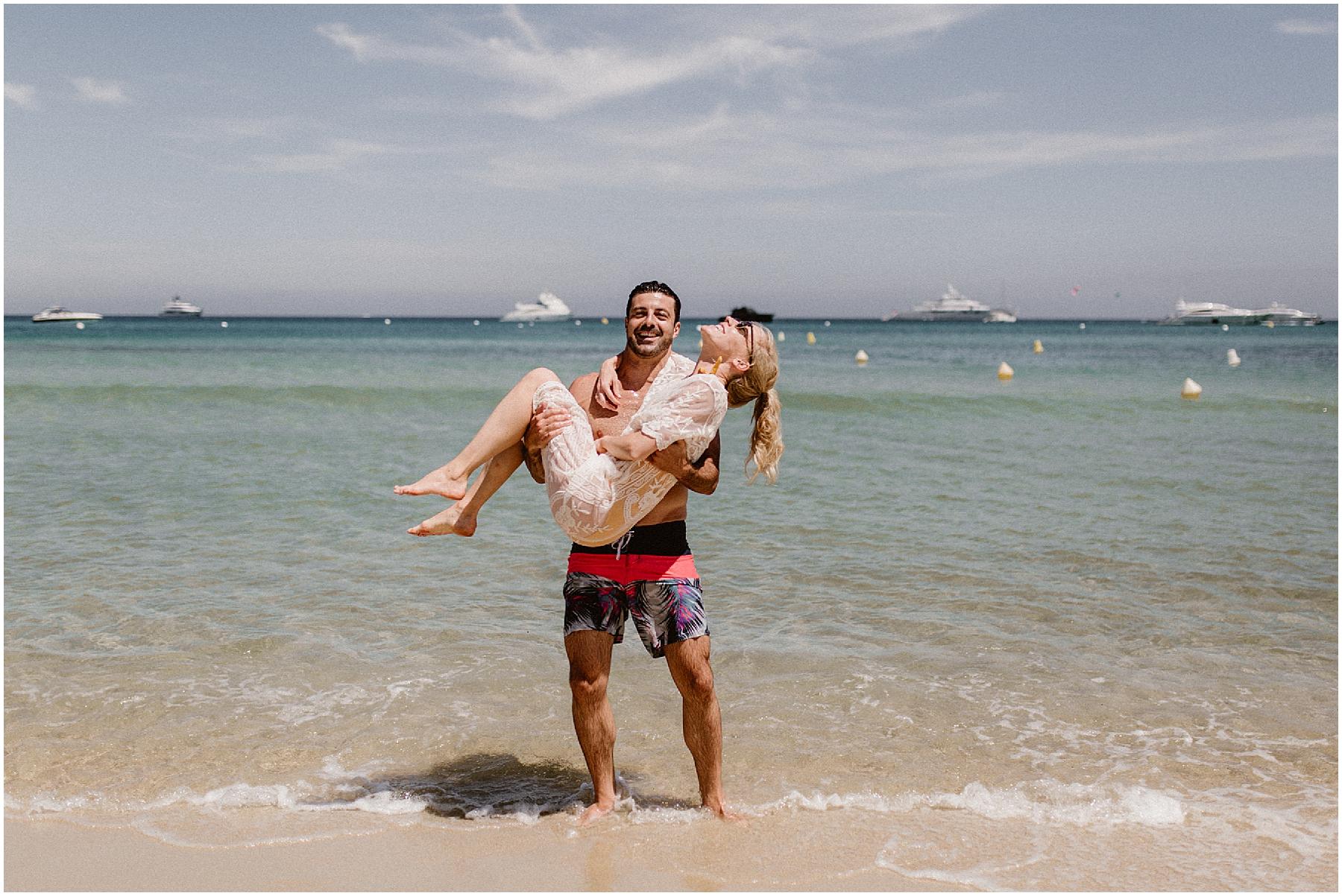 Mariage Plage Saint Tropez Plage des Jumeaux
