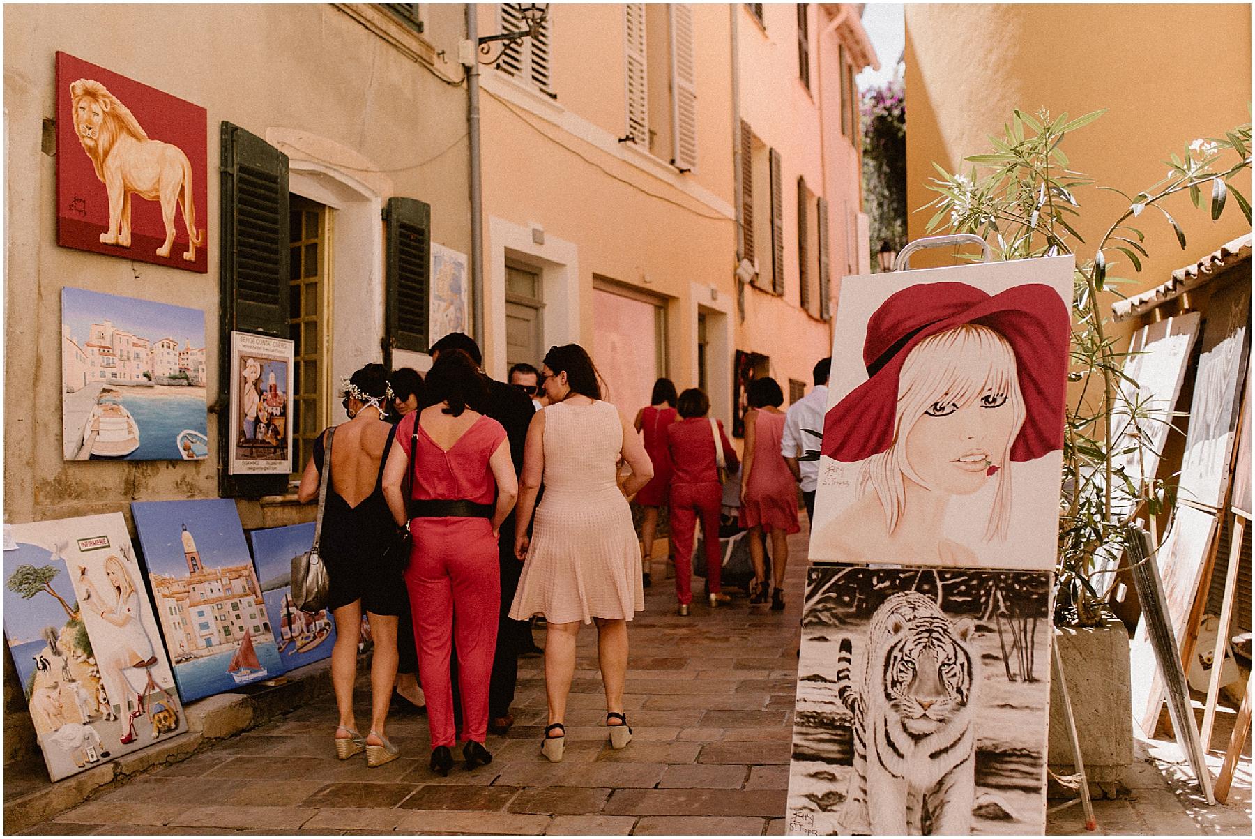 Mariage Saint Tropez Village