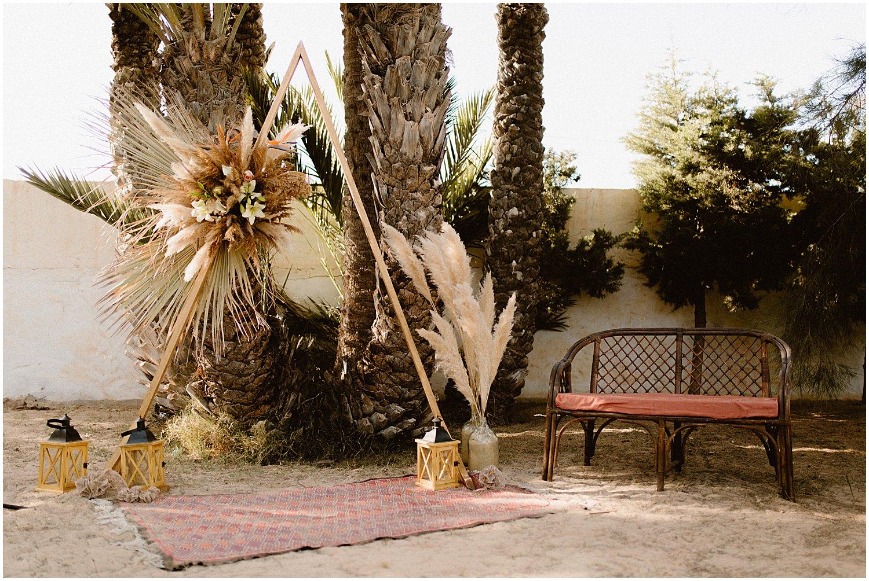 Ceremonie laique herbe de la pampa