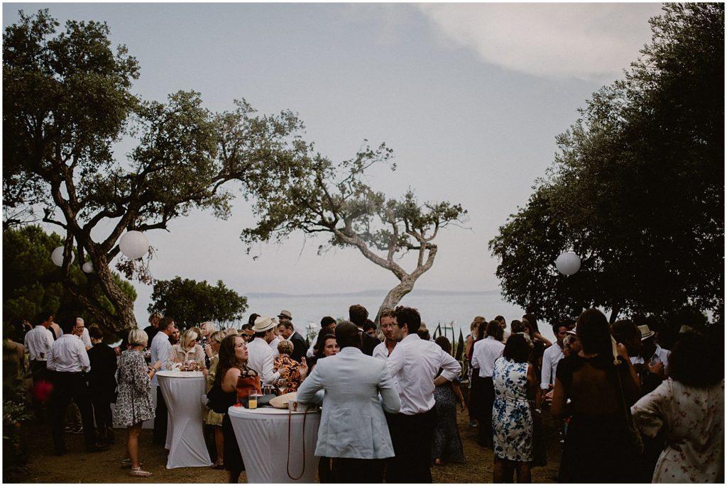 Mariage Tropicana Club Le Rayol