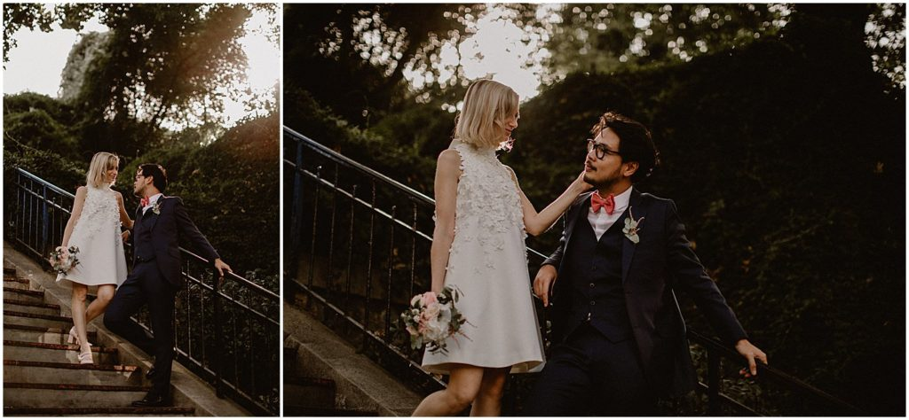 French wedding in Montmartre