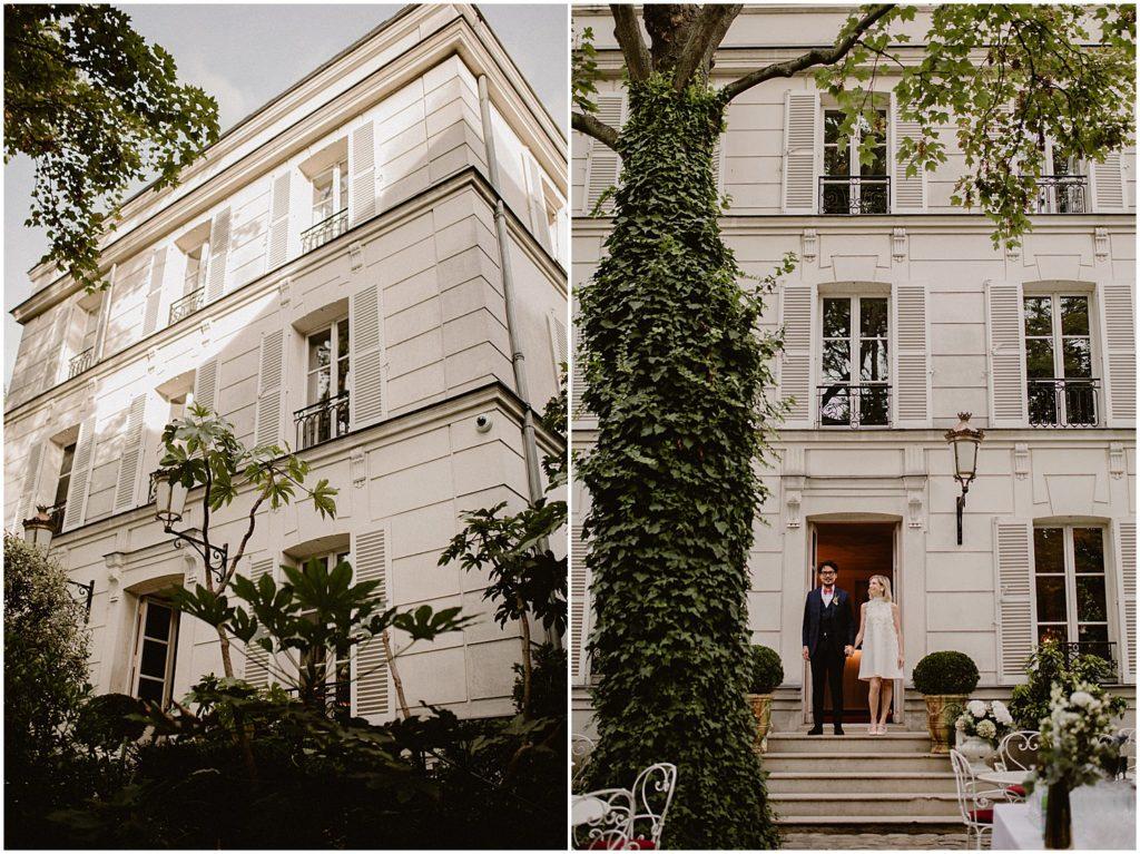 Mariage Hotel Particulier Montmartre