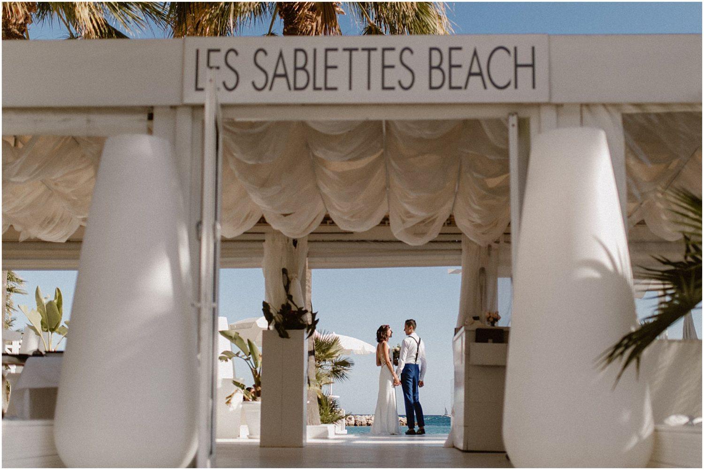 Mariage Les Sablettes Beach Menton