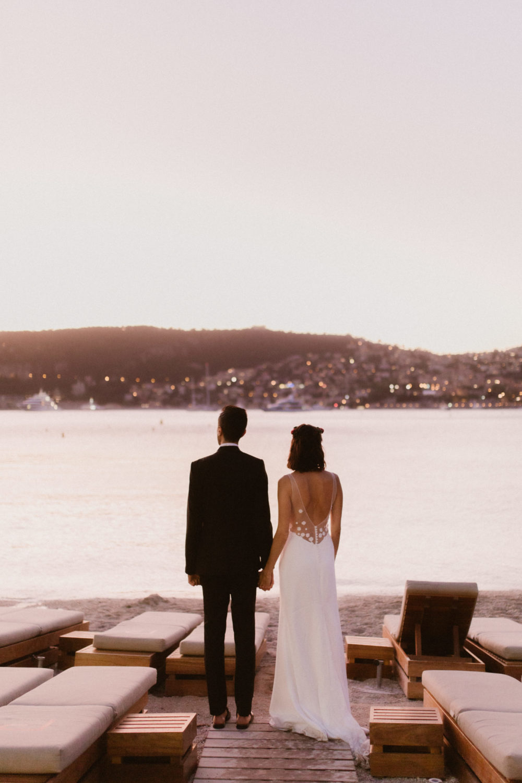 mariage saint jean cap ferrat plage passable