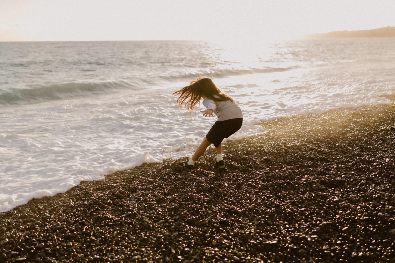 Photographe Famille à Nice plage promenade des anglais enfants