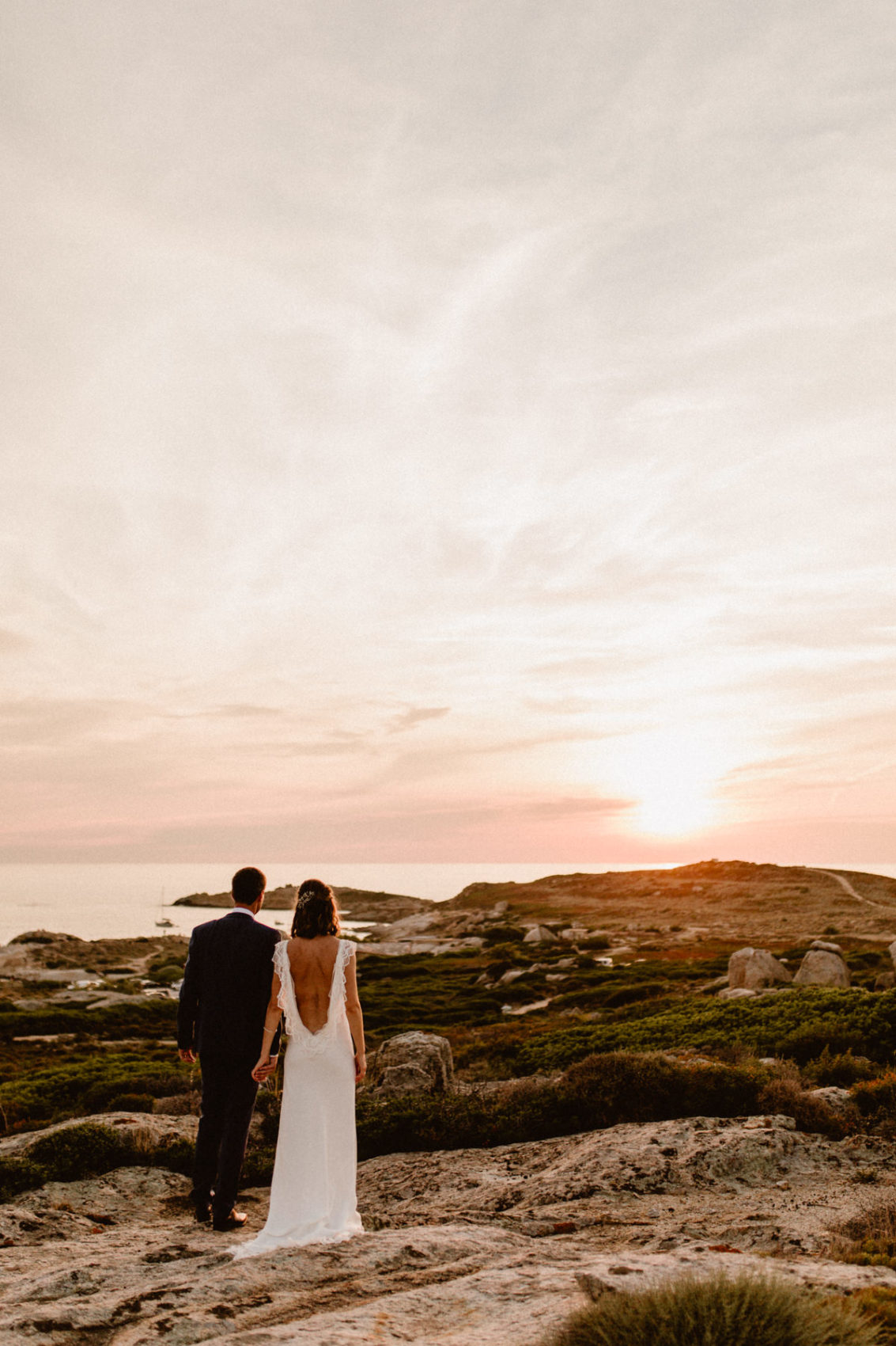 Le rocher lumio mariage corse