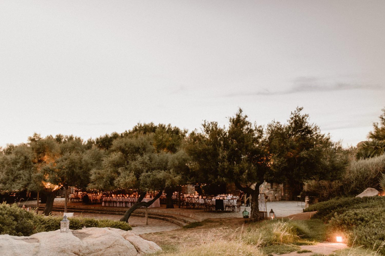 mariage au rocher lumio calvi corse