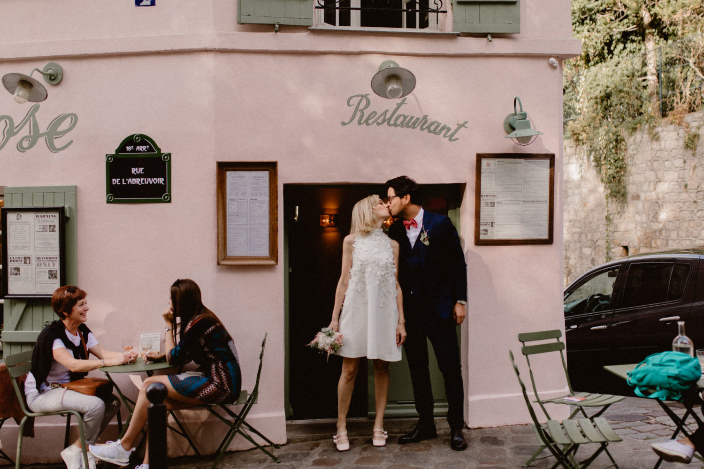 mairiage maison rose montmartre weddin