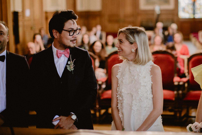 mariage mairie du 18 paris ceremonie