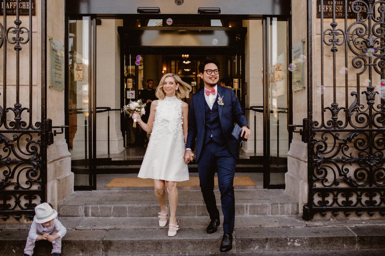 mariage parisien montmartre