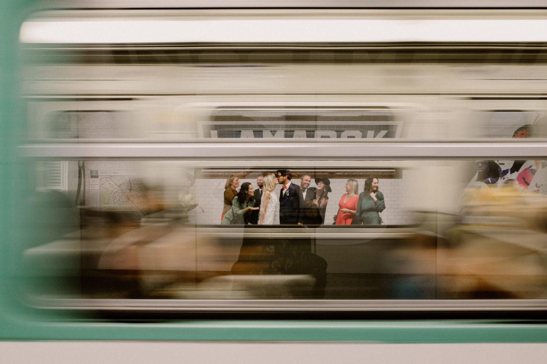 baiser du métro
