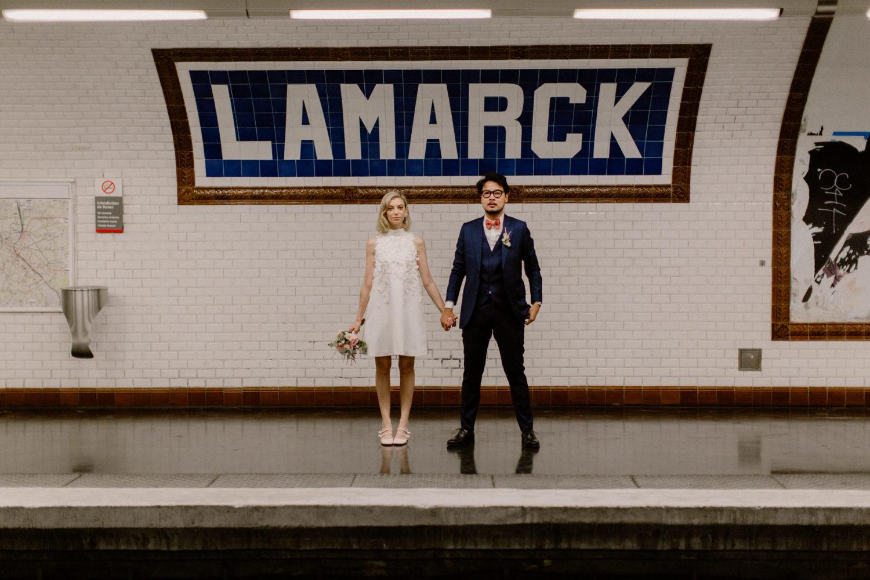 mariage mairie du 18 paris lamarck