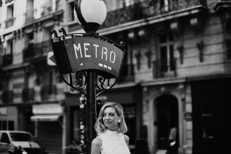 mariage dans le métro parisien