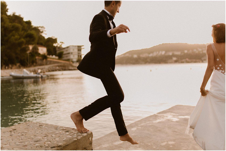 wedding in plage keller