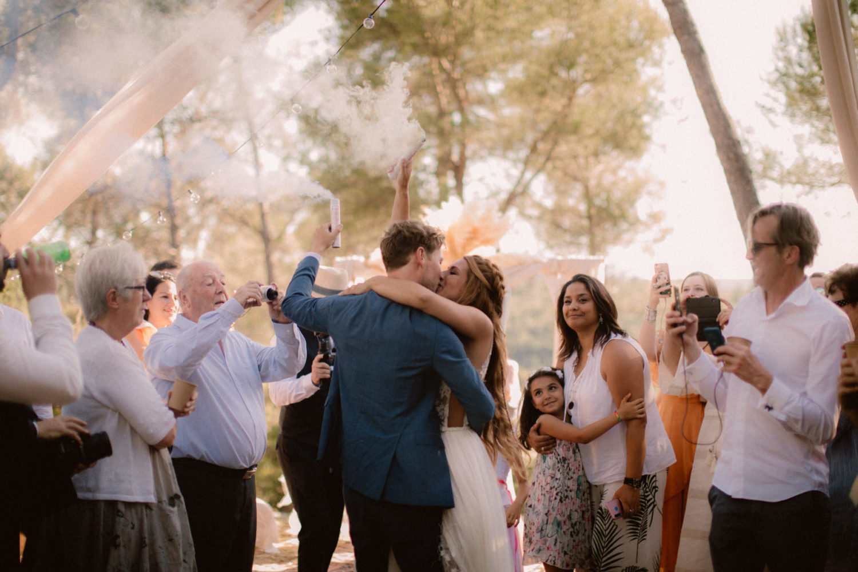 Mariage boheme dans le Var photographe