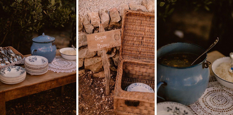 Soupe au Pistou pour mariage