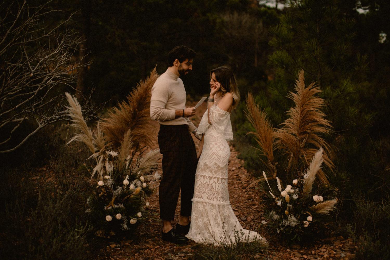 Mariage dans l'Esterel