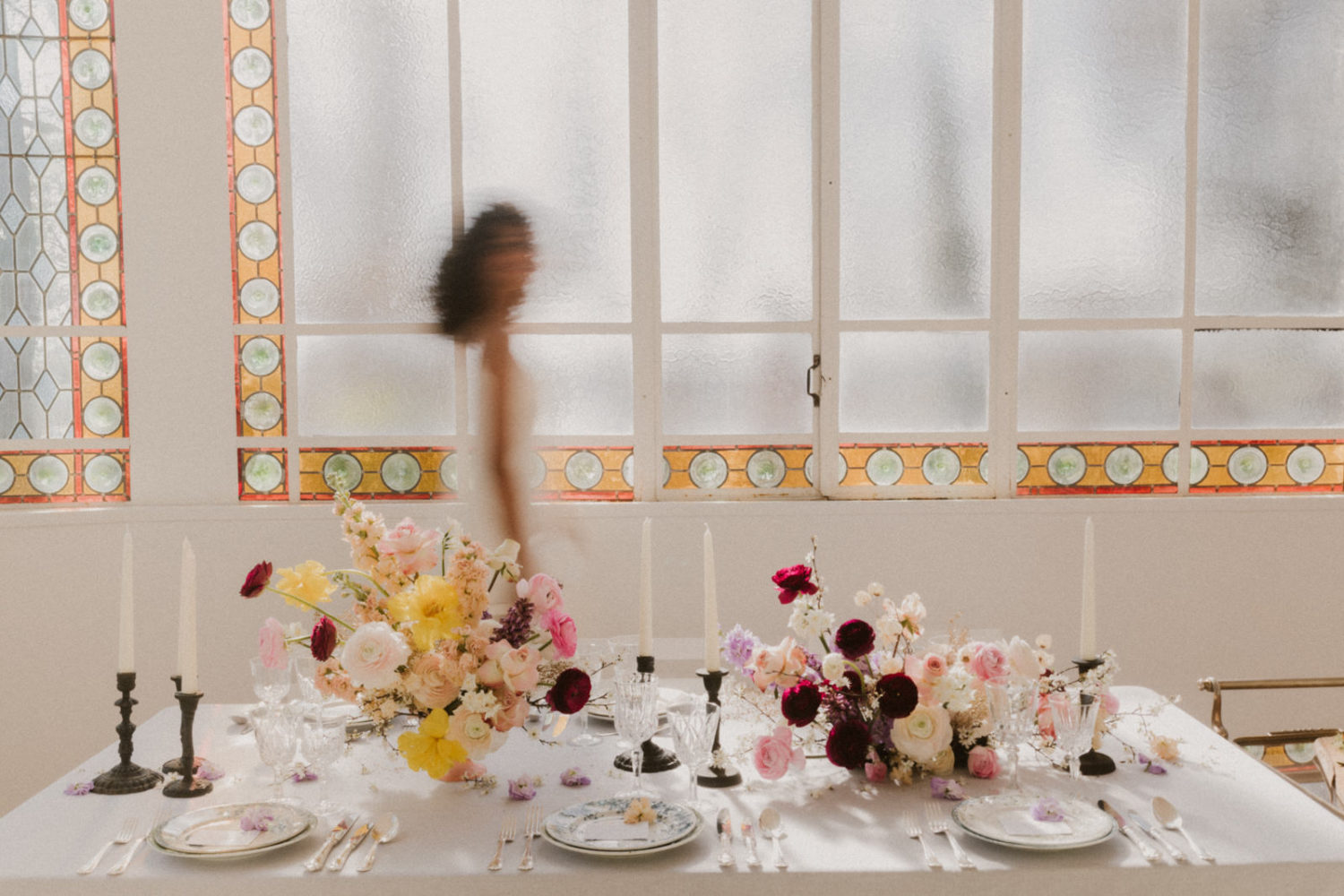 Table mariage chic provence