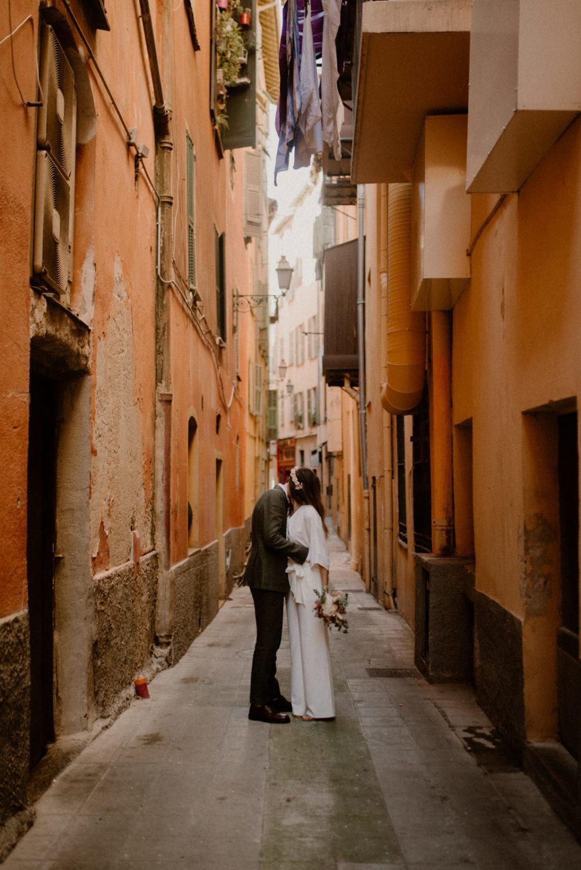 Mariage à Nice dans le Vieux